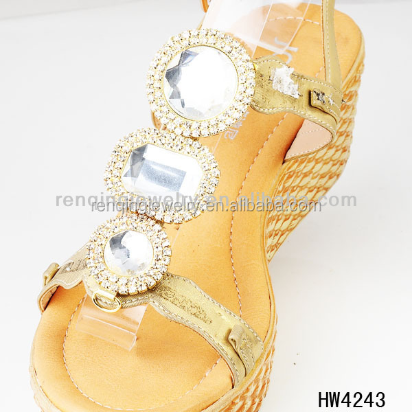 2013 The Fashionable Rhinestone Shoe Buckles
