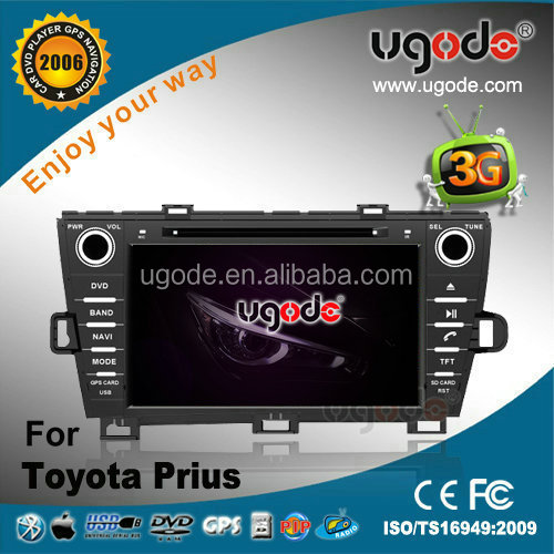 "8"" Android 2 Din Car Audio for Toyota Prius Right Hand Drive (2009--2013)"