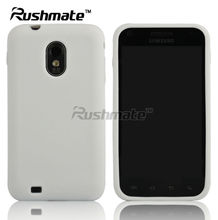 For Samsung Galaxy S2 D710 Epic 4G Touch Solid White Soft Ruber Silicone Skin Case Cover