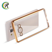 Phone accessories mobile for samsung galaxy j5(2016)/j510 phone cover for Samsung Galaxy J2 clear plating bumper tpu case