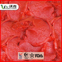 FDA certificate Best Price fresh Bulk Tomato Paste/sauce with tinned