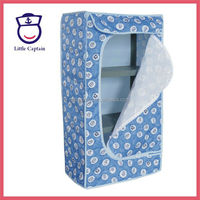 Plastic Folding Modern Bedroom Furniture Baby Wardrobe