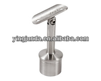 handrail fitting 180 degree adjustable tube support stainless steel wall mount handrail bracket