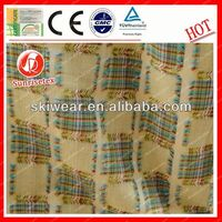 antistatic fireproof thick polyester stretch knit fabric