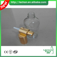 Packaging perfume essential oil 100ml Clear Glass dropper Bottle with european spray pump cap