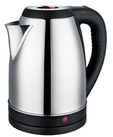 Baidu CE CB Approval Cordless Fast Boil 2.0L Polished Stainless Steel Electric Kettle Saudi Arabia Market