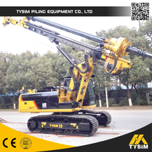 Well bored piling equipment! Best mini rotary drilling rig KR125A!