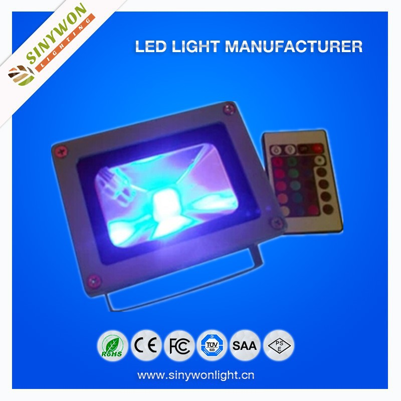 outdoor advertising lamp led floodlight 10w rgb with CE&RoHS