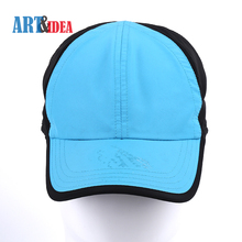 ODM fashion custom design mens womens polyester blue sports cap hat