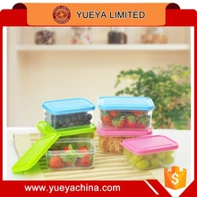 300ml microwoven food storage case/plastic lunch box