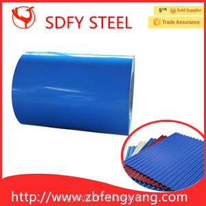 China Coal color Prepainted GI steel coil color coated galvanized steel sheet in coil