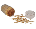 raw wooden dental interdental high quality toothpick
