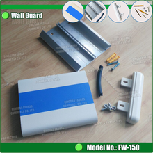 Plastic / PVC Hospital Wall Guard with continous impact bumper