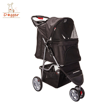 3 wheel pet stroller air buggy dog stroller aluminum dog trolley