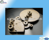 precise plastic machining wheel gear parts manufacturer