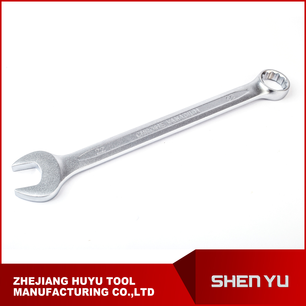 high quanlity CR-V combination wrench with Matt finish