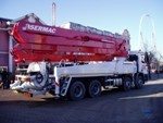 Sermac Truck Mounted Concrete Pumps