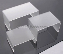 acrylic shoe fitting bench