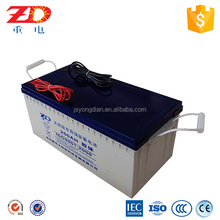 Storage 200ah solar battery 12v sealed rechargeable battery