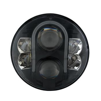 U shaped indicate light 7 Inch 12V 24V high low beam led headlight for Jeep OffRoad