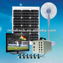 New energy 40W solar indoor lamp for 6 rooms