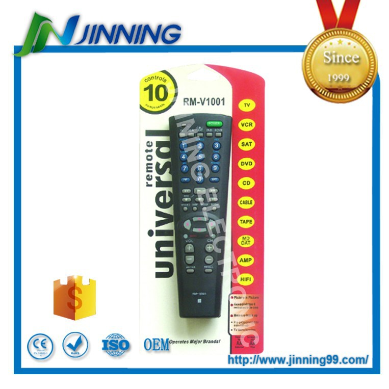 8 in 1 universal remote control codes for global market