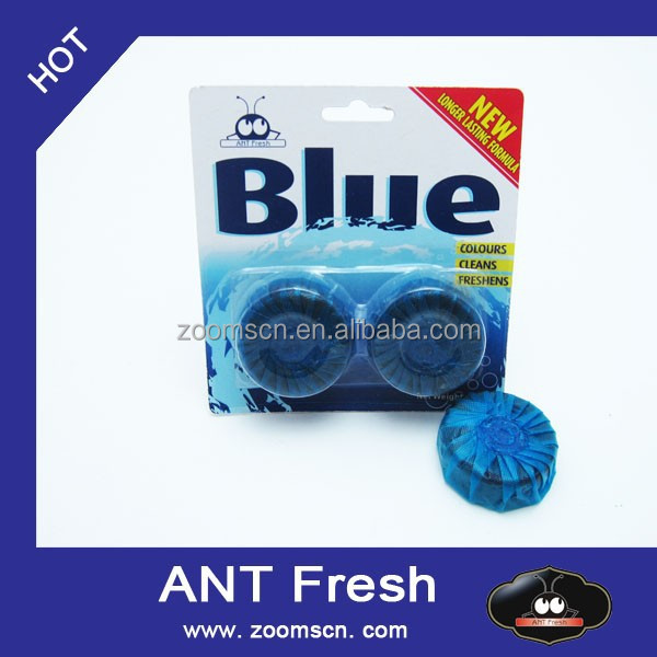 Automatic Tank Antibacterial Cleaning Tabs Blue Toilet Bowl Cleaner Deodorizer