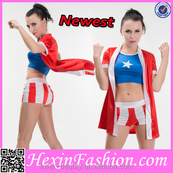 New Design Wholesale Cheap Sexy Cheer Uniforms