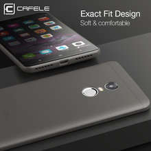 Cafele Matte Soft TPU Phone Case Ultra thin TPU Cover Anti-fingerprint for Xiaomi Redmi 4 Prime / Pro / Redmi 4A / Redmi 4X