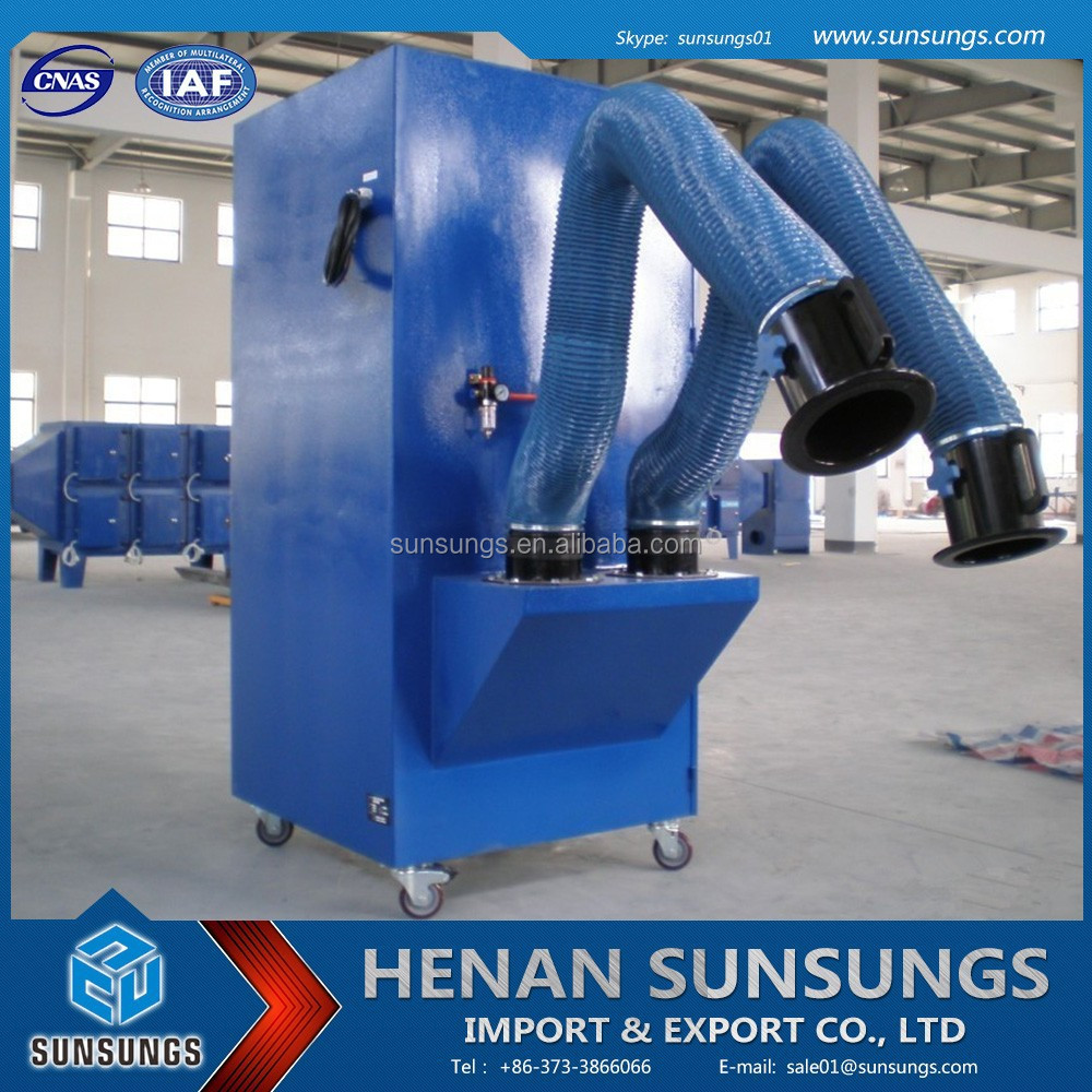 Using the full range of pulse automatic filter cleaning dust welding fume dust collector