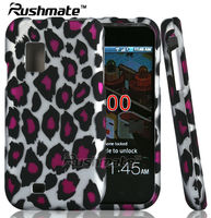 Leopard Accessories For Samsung SCH-I500 Fascinate Rubberized Case Cover