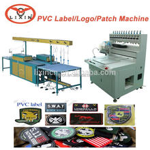 Full-Automatic Soft PVC Product Automatic Line For Mouse Mat Hair Clip Rubber Patch Machine