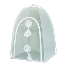 Portable Transparent Insect Rearing Cage, Black Soldier Fly Breeding Net House Aviary