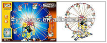 KNEX-Amusement Park Electric Ferris Wheel Toy Puzzles