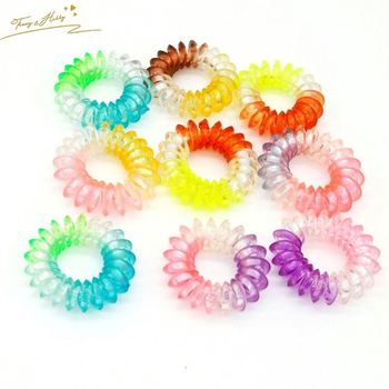 Best seller mini elastic hair bands popular traceless hair rings