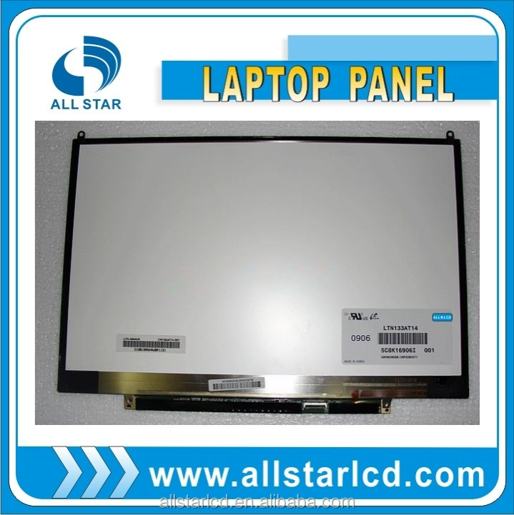 "13.3"" 1280*800 notebook LCD LED Display LTN133AT14"