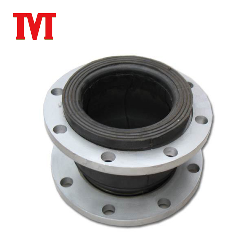 double sphere flexible rubber expansion joint flange type