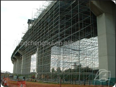 Heavy Duty Steel Ringlock Formwork Scaffolding System for Concrete Pouring