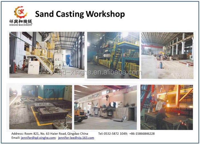 China foundry oem parts sand casting cast iron casting with machining