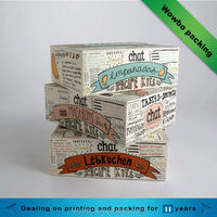 Eco-friendly paper cardboard boxes for cookie packing