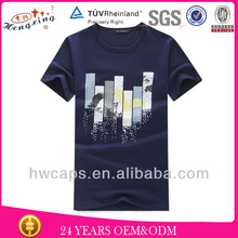 Wholesale cheap election cotton custom tshirt for men