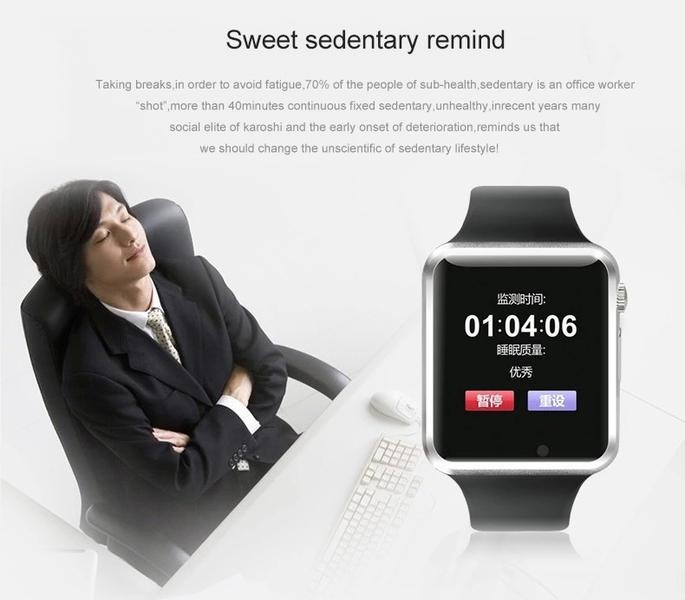 News A1 Bluetooth Smart Watch Wrist Watch Men Sport watch for <strong>Android</strong>/IOS <strong>Phone</strong>