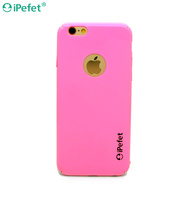 Free sample Slim case PC hard funky mobile case for iPhone 6 Pink