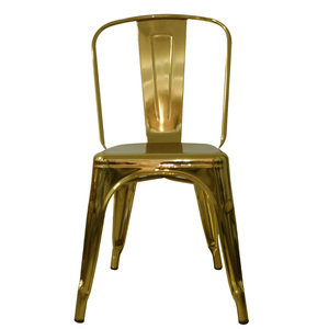 Modern elegant factory price high quality metal chair for dining room