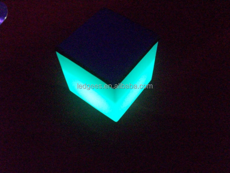 led ice cube bucket/cube lighted furniture