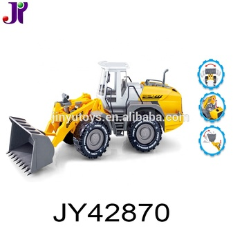1:22 Plastic Friction Engineering Truck Bulldozer Construction Truck Toy for kids