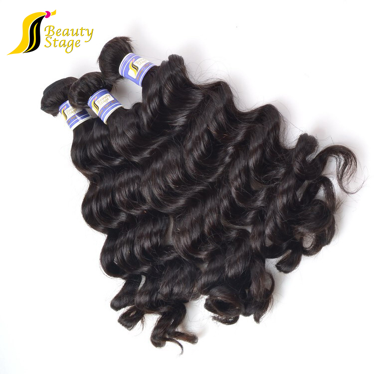 wholesale factory price loose wave sew in virgin human hair extensions