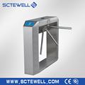 304 stainless steel automatic tripod turnstile bar code compatible
