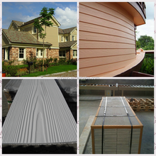 CE Mark Australia Standard Wooden Texture Siding Panel