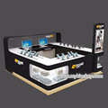 2017 hot sale mobile phone display counter with phone shop interior design for sale